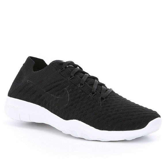 15f75e05cb1d Women s Nike Free TR Flyknit 2 Black white. M 5acee4c15512fddee475e589